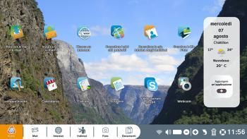sfondo desktop personalizzato